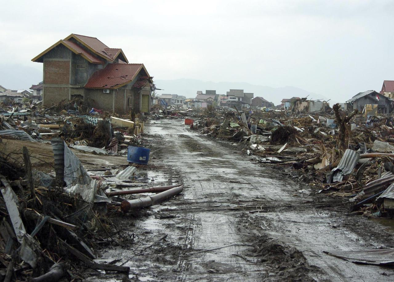Tsunami Indonésie 2018